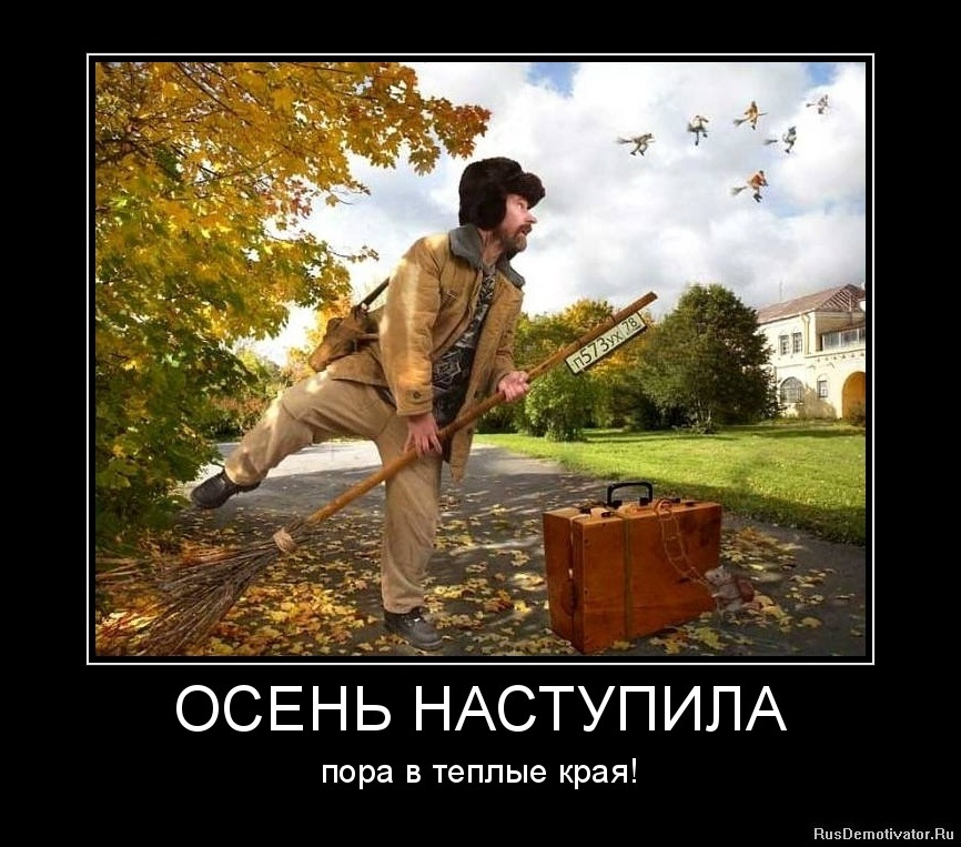 картинки приколы про осень с надписями 001