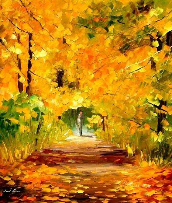 красивые картинки про осень с детьми 006