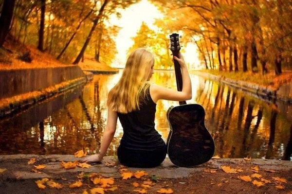 красивые картинки про осень с детьми 013