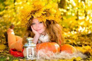 красивые картинки про осень с людьми 005