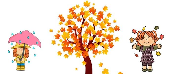 лесные деревья осенью картинки для детей 024