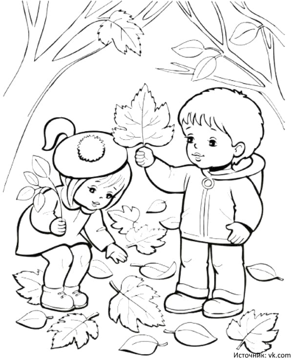 черно белые картинки на тему осень 017