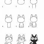 Аниме рисунки кошки для детей