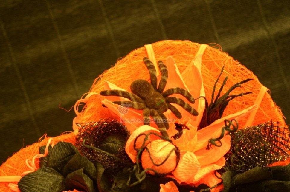 Букеты из конфет на хэллоуин 002