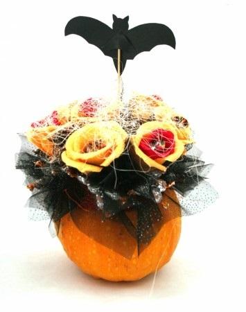 Букеты из конфет на хэллоуин 020
