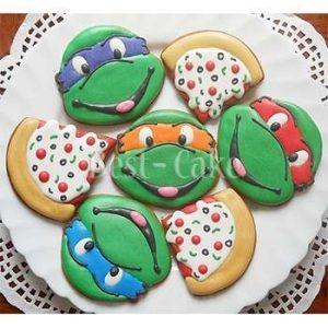 Вкусное печенье черепашки ниндзя 019