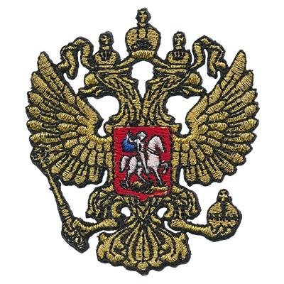 Герб россии трафарет 010