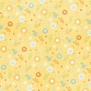Детский фон желтый 016
