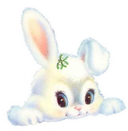 Зайки и зайчики милые рисунки (12)