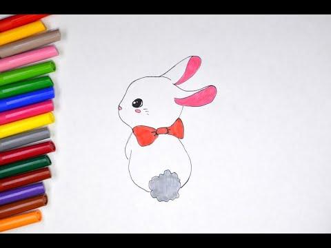 Зайки и зайчики милые рисунки (20)