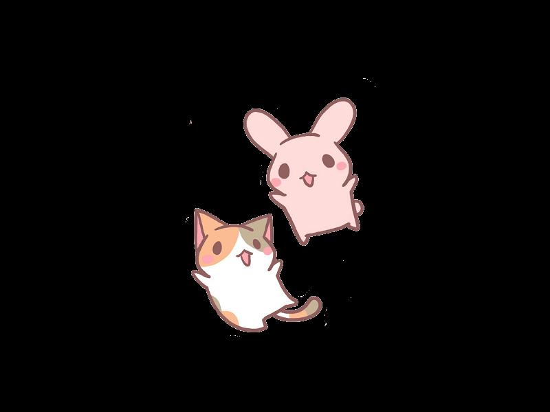 Зайки и зайчики милые рисунки (29)