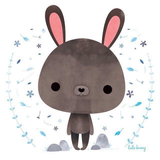 Зайки и зайчики милые рисунки (6)