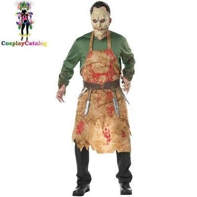 Зомби костюм на хэллоуин 022