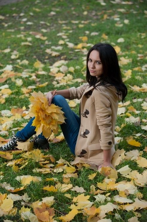 Идеи фотосессии осенью в лесу 002
