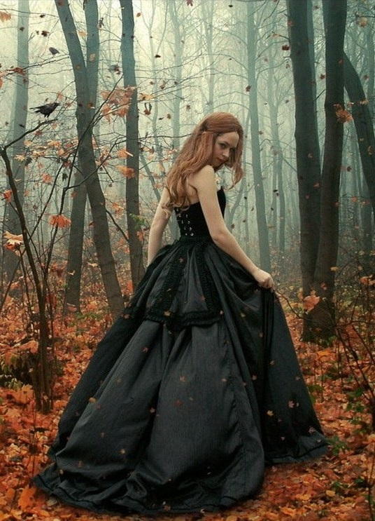 Идеи фотосессии осенью в лесу 003