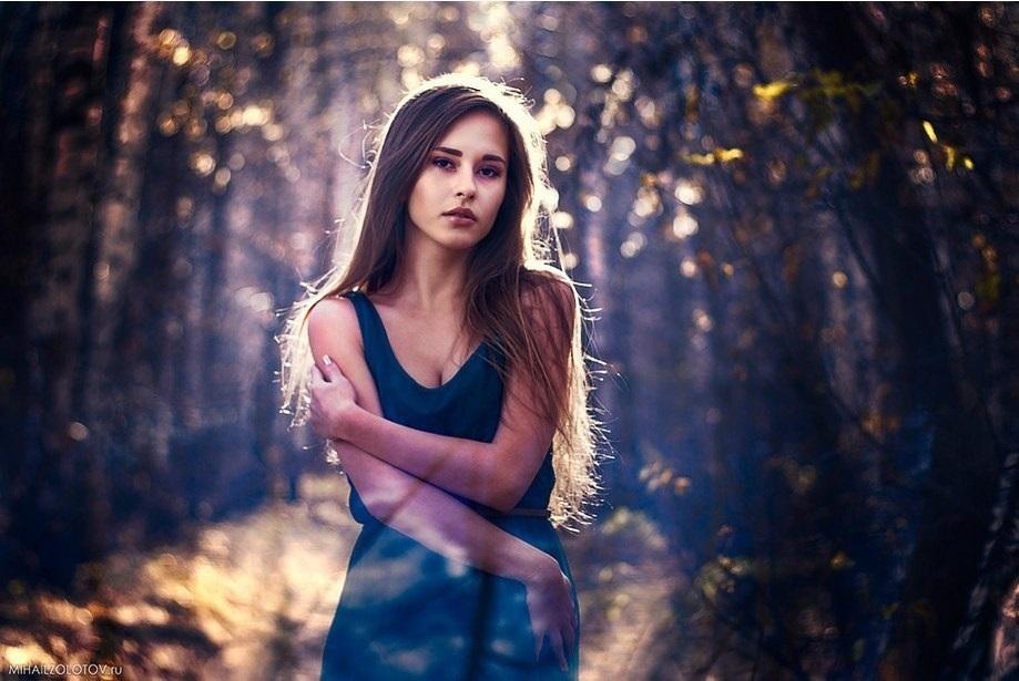 Идеи фотосессии осенью в лесу 004