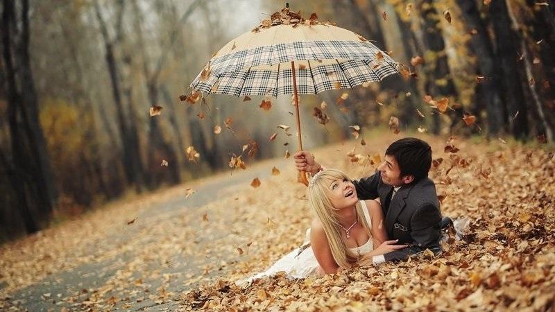 Идеи фотосессии осенью в лесу 007