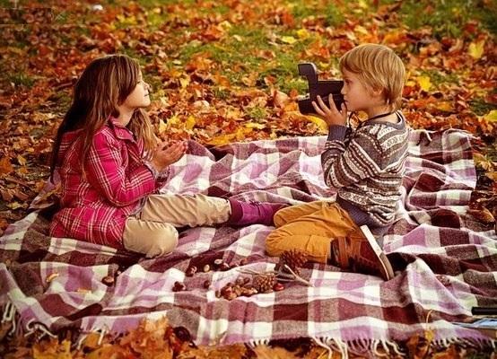 Идеи фотосессии осенью в лесу 008