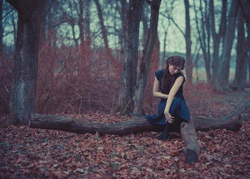 Идеи фотосессии осенью в лесу 018