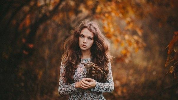 Идеи фотосессии осенью в лесу 024