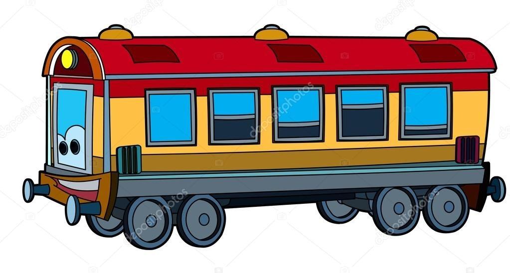 Картинка вагон для детей 006