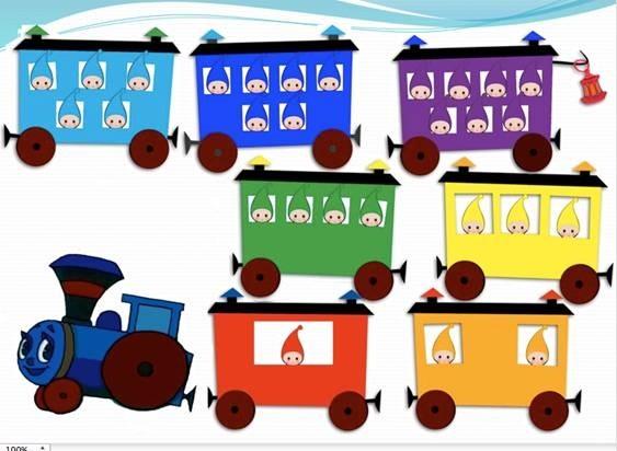 Картинка вагон для детей 013