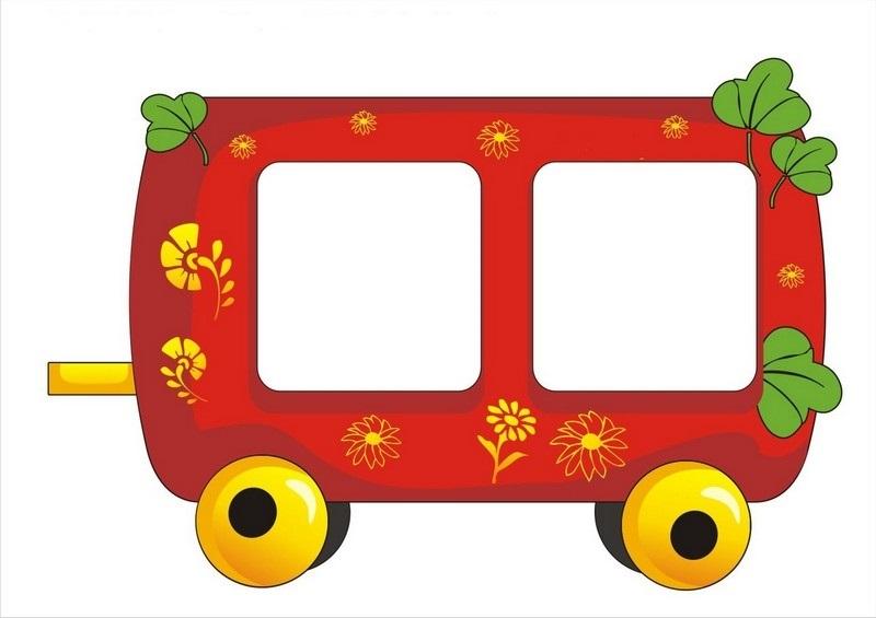 Картинка вагон для детей 014