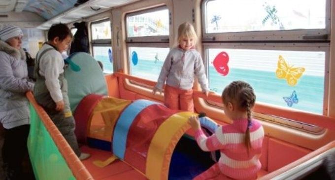 Картинка вагон для детей 015