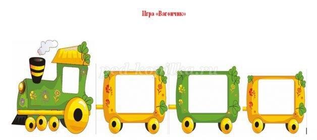 Картинка вагон для детей 021