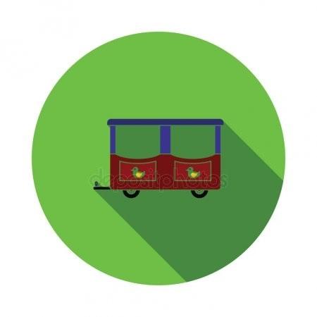 Картинка вагон для детей 026