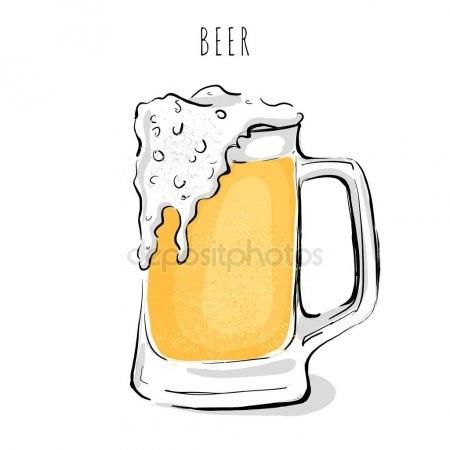 Картинка кружка пива 004