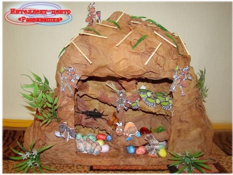 Картинка муравейника для детей 004