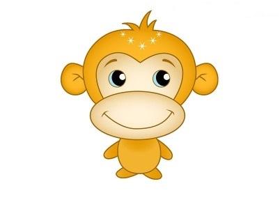 Картинка обезьянки для детей 001