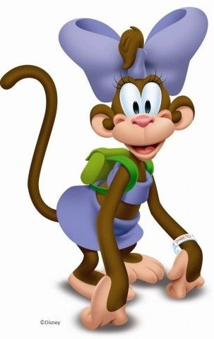 Картинка обезьянки для детей 004