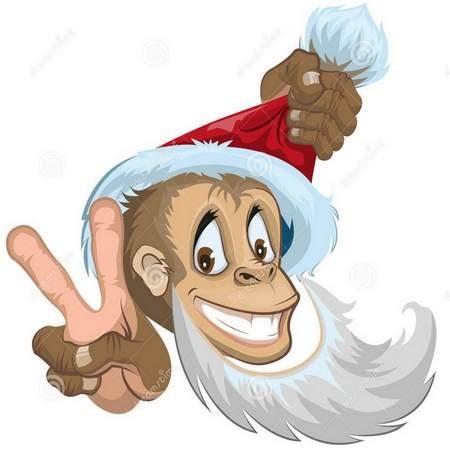 Картинка обезьянки для детей 008