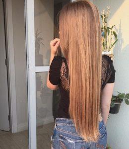 Картинки девушек с русыми длинными волосами 012