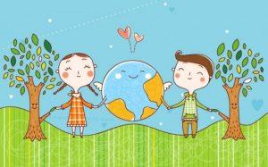 Картинки дети и экология 009