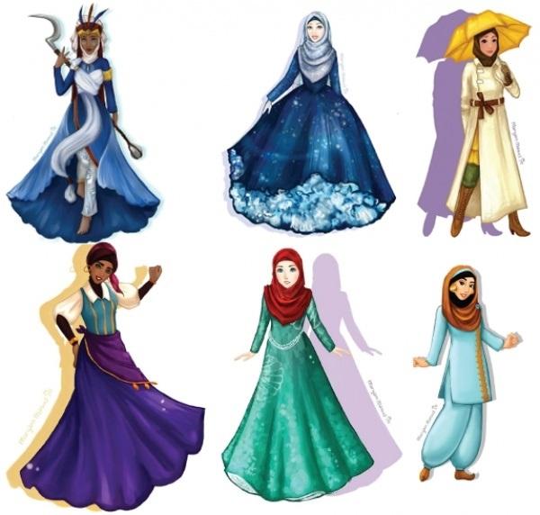 Картинки для срисовки принцессы диснея 011