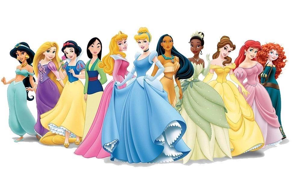 Картинки для срисовки принцессы диснея 016