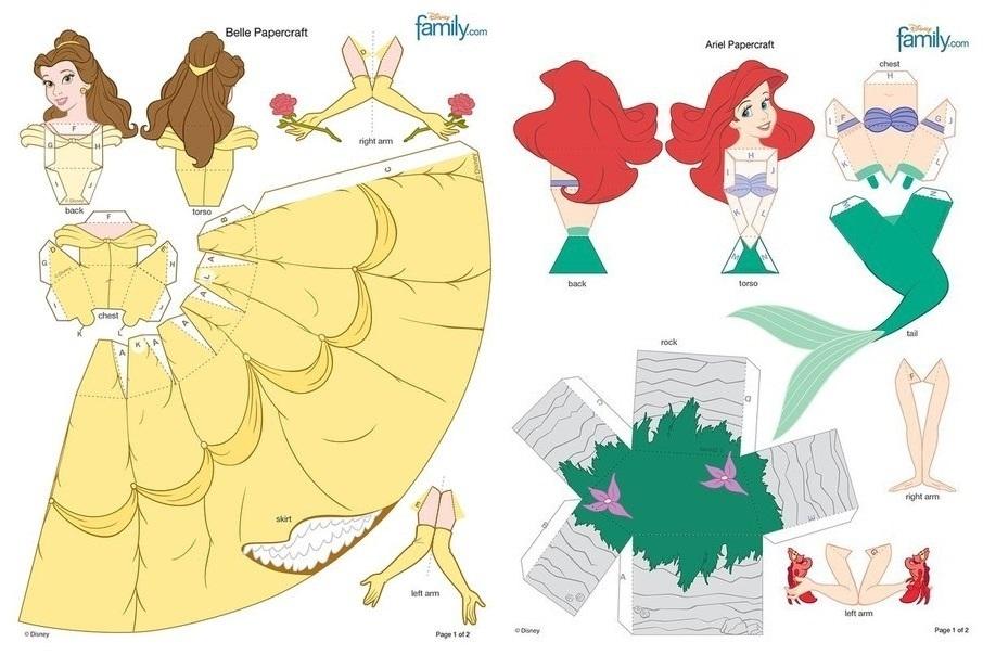 Картинки для срисовки принцессы диснея 019