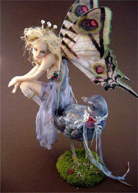 Картинки и арты русалки, феи, эльфы, ангелы (19)