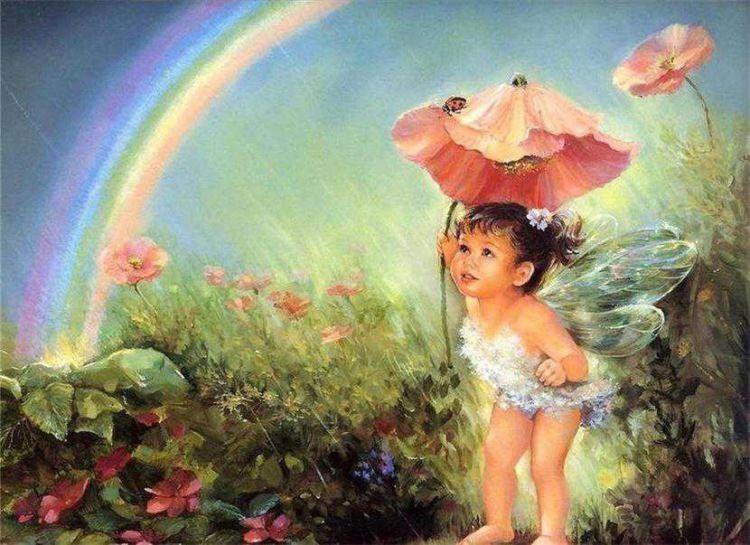 Картинки и арты русалки, феи, эльфы, ангелы (2)