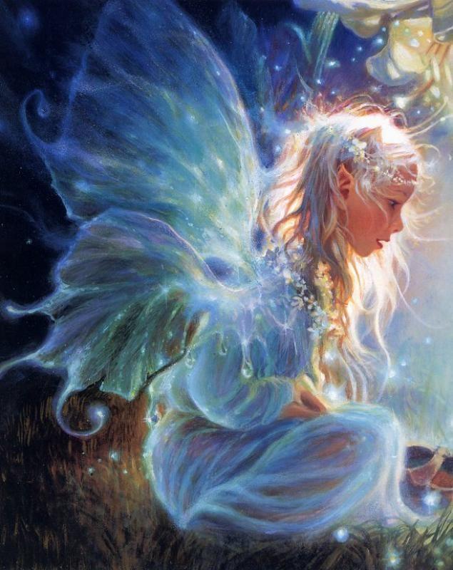 Картинки и арты русалки, феи, эльфы, ангелы (3)