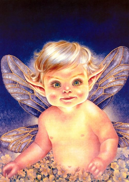 Картинки и арты русалки, феи, эльфы, ангелы (5)