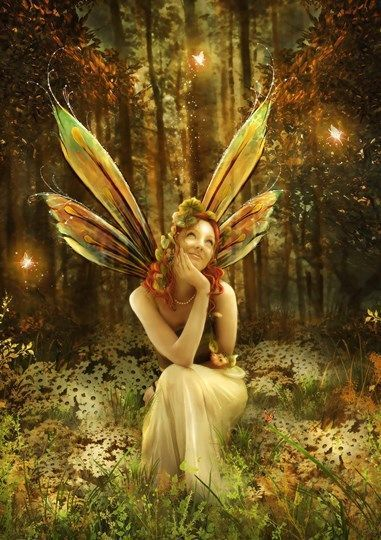 Картинки и арты русалки, феи, эльфы, ангелы (6)