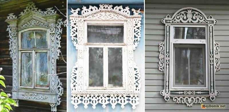 Картинки как нарисовать окно с узорами 009