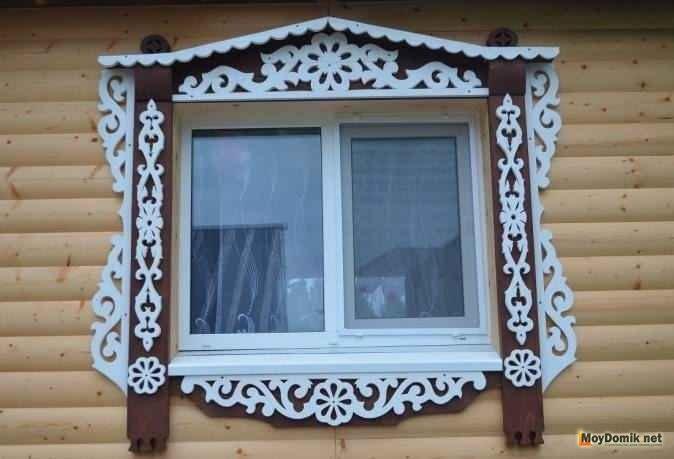 Картинки как нарисовать окно с узорами 014
