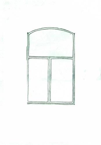 Картинки как нарисовать окно с узорами 023