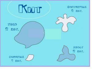 Картинки кит из фетра 017