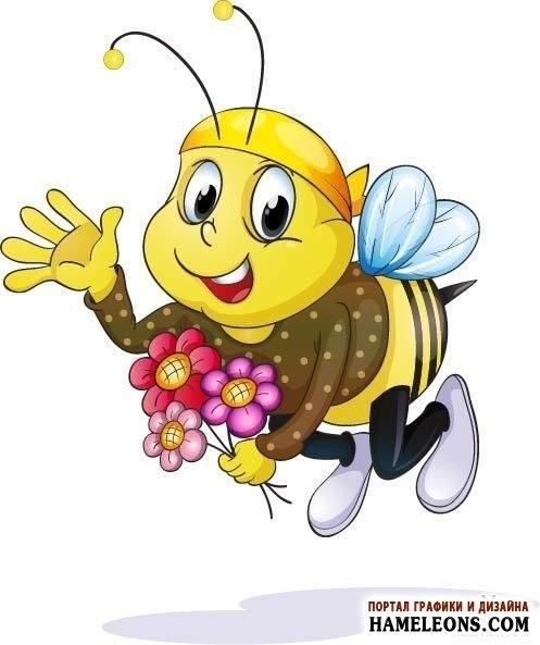 Картинки мультяшные пчелки 014